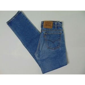 Vintage Levi's 505 Blue Jeans 30 X 34 Regular